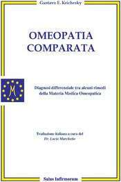 Omeopatia Comparata  Gustavo Ezequiel Krichesky   Salus Infirmorum