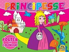 Principesse - Poster da Colorare  Autori Vari   Macro Junior
