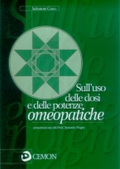 Sull&#039;uso delle dosi e delle potenze omeopatiche  Salvatore Coco   Cemon